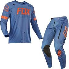 Fox 2017 Herren Motocross / MTB Jersey + Hose - LEGION OFF-ROAD - blau Motocross