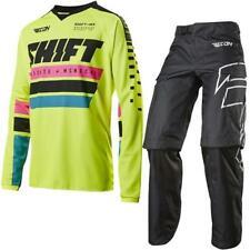 SHIFT MX 17 Motocross/MTB Jersey+Tubo radiatore Recon Phoenix giallo neon