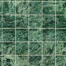 1/12 Scale Green Marble Dollhouse Tile Flooring #MH5957