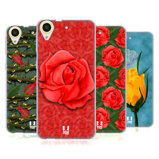 HEAD CASE DESIGNS ROSES ÉTUI COQUE EN GEL MOLLE POUR HTC DESIRE 650