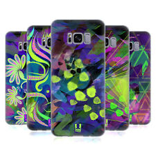 HEAD CASE DESIGNS NEON PATTERNS SOFT GEL CASE FOR SAMSUNG GALAXY S8