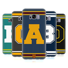 HEAD CASE DESIGNS COLLEGE VARSITY SOFT GEL CASE FOR SAMSUNG GALAXY S8+ S8 PLUS
