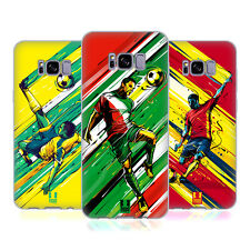 HEAD CASE DESIGNS FOOTBALL MOVE SOFT GEL CASE FOR SAMSUNG GALAXY S8+ S8 PLUS