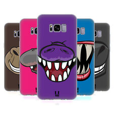 HEAD CASE DESIGNS GRINS SOFT GEL CASE FOR SAMSUNG GALAXY S8+ S8 PLUS