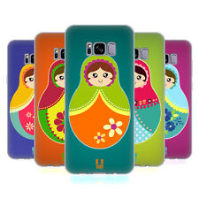 HEAD CASE DESIGNS NESTING DOLLS SOFT GEL CASE FOR SAMSUNG GALAXY S8+ S8 PLUS