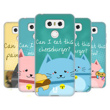 HEAD CASE DESIGNS CURIOUS CATS SOFT GEL CASE FOR LG G6