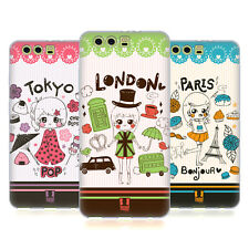 HEAD CASE DESIGNS CITY SYMBOLS SOFT GEL CASE FOR HUAWEI P10 PLUS