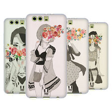 HEAD CASE DESIGNS FLORAL BEAUTIES SOFT GEL CASE FOR HUAWEI P10 PLUS