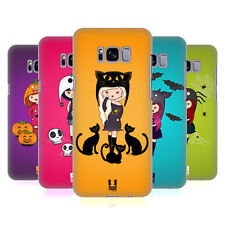 HEAD CASE DESIGNS SPOOKY BEANIES HARD BACK CASE FOR SAMSUNG GALAXY S8+ S8 PLUS
