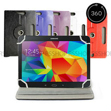 "7"" Android Tablet Folio Leather Flip Case Cover Universal 360 Rotating"