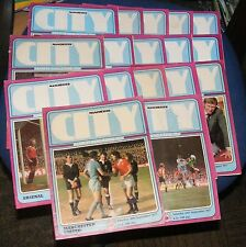 MANCHESTER CITY HOME PROGRAMMES 1977-1978