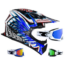 SUOMY CASCO CROSS RUMBLE Eclipse Azul two-x RACE MX Gafas de Motocross enduro