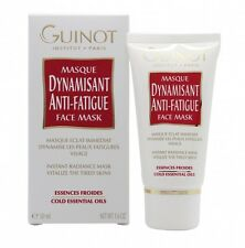 GUINOT DYNAMISANT ANTI-FATIGUE FACE MASK - WOMEN'S FOR HER. NEW. FREE SHIPPING