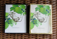 Vintage Antioch Publishing 50 Bookplates 1982 Gibson Greeting Cards HAPPY MOUSE