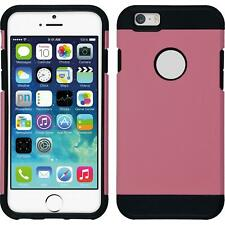 Funda Híbrida  Apple iPhone 6s / 6 - ShockProof rosa + protector de pantalla