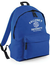 Gallifrey Universidad Doctor Who Mochila colegio instituto trabajo Mochila lona