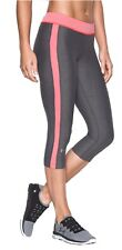 Under Armour Donna sport-freizeit- Pantaloni capri UA HEATGEAR Grigio