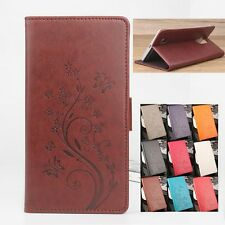 For Blackview BV7000 Pro Smartphone PU Leather Wallet Card Slot Case Cover Skin