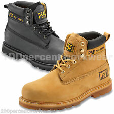 PSF 844SM 846SM Outback Mens Safety Work Leather Boots Shoes Steel Toe Cap Sole