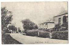 WOOL Dorset, View in the Village #2, Old Postcard by Podger Postally Used 1915