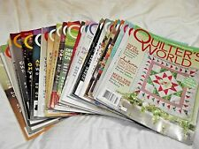 Quilters World Magazine Issues February 2003 - Autumn 2014