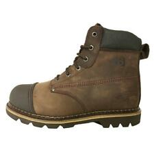 Buckler B301SM Hard As Nails Chocolate Oil Leather safety boot SZ 6-12