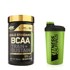 Optimum Nutrition Gold Standard BCAA Train+ Sustain 266g+ Fitnesskaufhaus Shaker