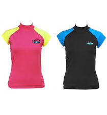 KSP MAGLIA IN LYCRA SKILL WOMAN S/S S-M-L-XL SHIRT FOR KITE WIND SURF WOMEN