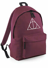 Deathly Hallows Harry Potter Mochila colegio instituto trabajo Mochila lona