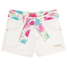 Lelli Kelly Davina White Cotton Tie Shorts Summer Chic Collection 65.02.41
