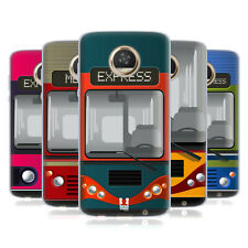 HEAD CASE DESIGNS BUS STUFF SOFT GEL CASE FOR MOTOROLA PHONES