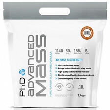 PHD Nutrition MASSA AVANZATA rigido GAINER BLOCCO FASE FORMULA 5.4KG Weight