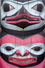 Poster / Leinwandbild Totem Pole at Icy Strait Point Cultural ... - R. Cummins