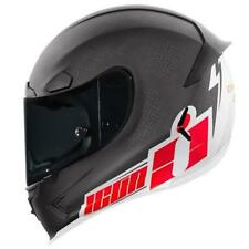 ICON FLASH BANG Airframe Pro Casco para motocicleta 17 carbono-rojo Supermoto