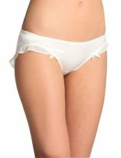 """Fifi Chachnil """" Lala """" Culotte / Knickers   Satin And Silk  in Ivory"""