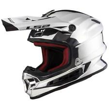 LS2 MX456 CASCO CROMO Casco da motocross Enduro MX MOTO CROSS OFFROAD Limited