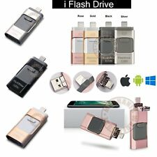 32 64 128GB i Flash Drive OTG Device USB Stick Disk For iPhone 5 SE 6 7 Plus PC