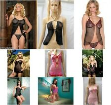 New Sexy Chemise  / Babydoll  One Size 8- 14 By Leg Avenue 8 Styles & Colours