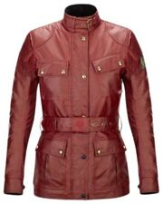 Belstaff Classic Tourist Trophy Leather Woman Jacket Chaquetas piel