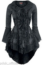 Halloween Jawbreaker Goth Victorian Retro New Romantic Womens Jacket Coat 8-18