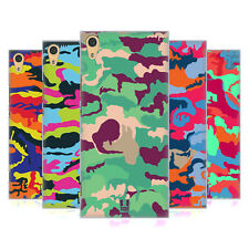 HEAD CASE DESIGNS COLOURFUL CAMOUFLAGE CASE FOR SONY XPERIA XA1 ULTRA / DUAL