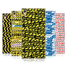 HEAD CASE DESIGNS WARNING TAPE HARD BACK CASE FOR SONY XPERIA XA1 ULTRA / DUAL