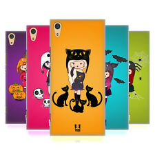HEAD CASE DESIGNS SPOOKY BEANIES HARD BACK CASE FOR SONY XPERIA XA1 ULTRA / DUAL