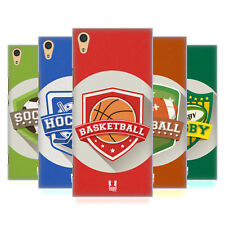 HEAD CASE DESIGNS SPORTS BADGE HARD BACK CASE FOR SONY XPERIA XA1 ULTRA / DUAL