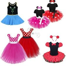 Baby Kid Girl Prom Minnie Princess Halloween Cosplay Costume Fancy Dress Outfit