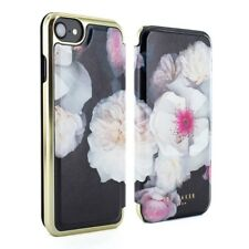 OFFICIAL Ted Baker Mirror Folio Chelsea Case For iPhone 7 6 6S 7 Plus 6/6S Plus