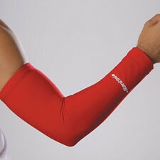 SANTINI 365 ARM WARMERS CYCLING CYCLE ROUBAIX THERMOFLEECE WITH GRIPPER - RED