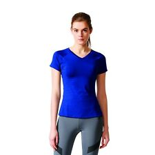 adidas Damen Fitness Training Sport T-Shirt FREELIFT TEE Mystery Ink