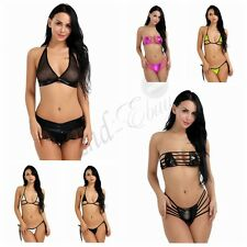 Women Brazilian Bikini Top Micro G-string Thongs Sleepwear Swimwear Beachwear