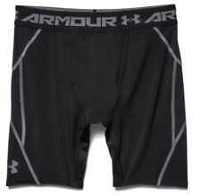 Under Armour Uomo kompressionsshorts UA Heatgear Armourvent™ NERO